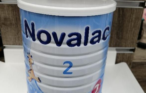 NOVALAC 2AGE LAIT 800G