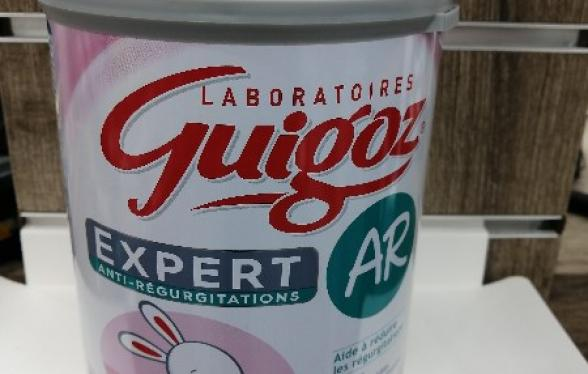 GUIGOZ EXPERT AR2 LAIT 800G